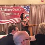 Richland County Republican Party chairwoman Marilyn John