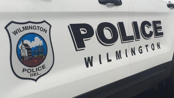 Wilmington Police Department vehicle.