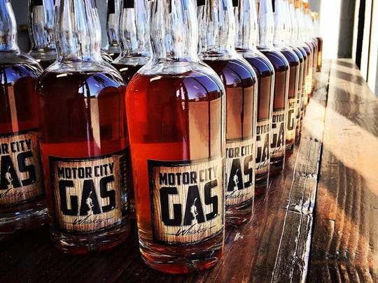 Motor City Gas is a family-owned whiskey distillery