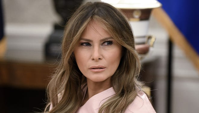 First lady Melania Trump was expected to make a second trip to the Mexican border this week to visit facilities holding immigrant families suspected of illegally crossing into the United States.