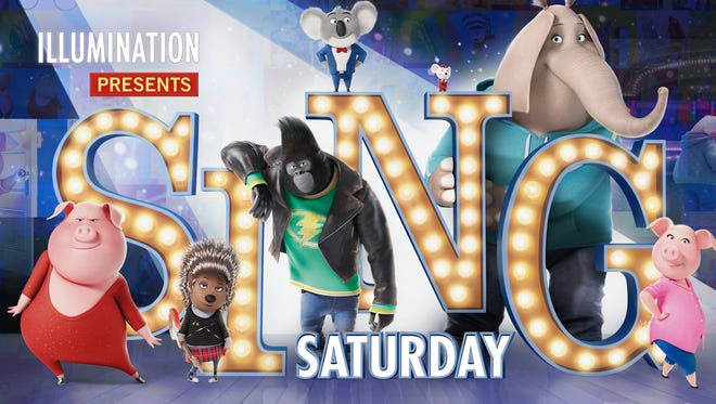"""AMC Theatres are showing """"Sing"""" in free screenings Nov. 26."""