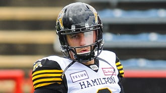 Johnny Manziel was a backup for the Hamilton Tiger-Cats in what is his first season in the CFL.