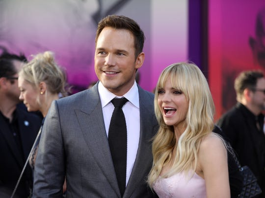 Anna Faris joins her husband, Chris Pratt, in the Academy.