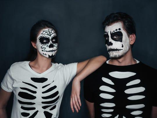 Skeletons always look better in a pair. Grab your friend