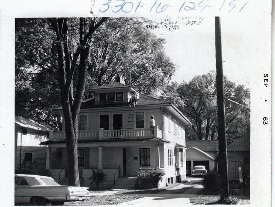 A Lansing home at an unidentified address is one of
