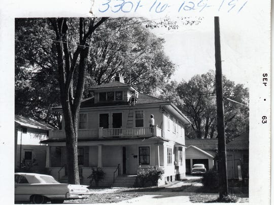 A Lansing home at an unidentified address is one of the nearly 17,000 photographs in CADL's Local History Online City of Lansing Assessor Photograph Collection. The photo was taken in September 1963.
