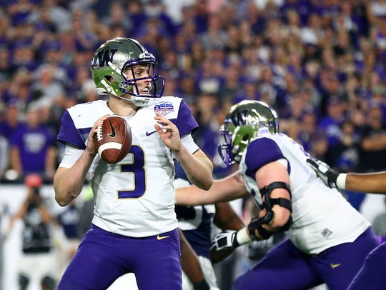 Jake Browning likely will leave Washington owning most