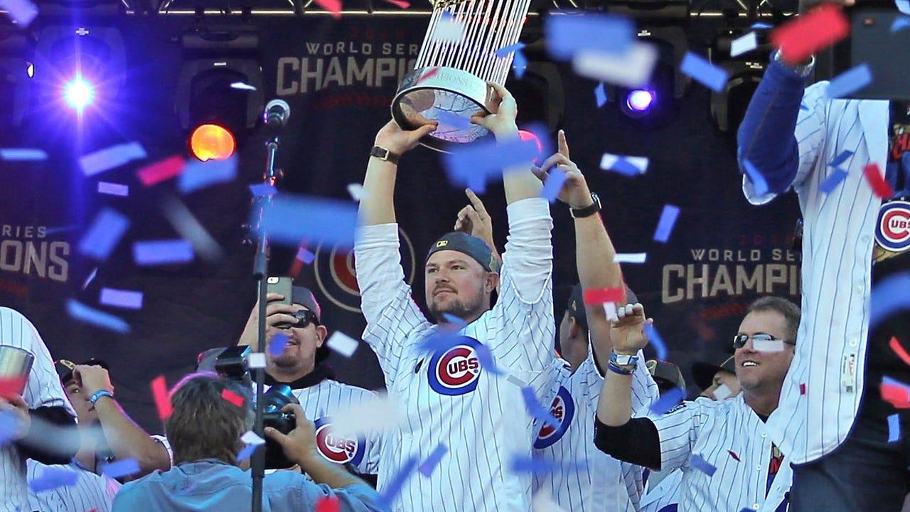 6a9eaa41c Theo Epstein named Sporting News Major League Baseball Executive of ...