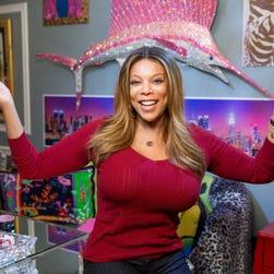 Wendy Williams in her studio in New York on November 22, 2013.