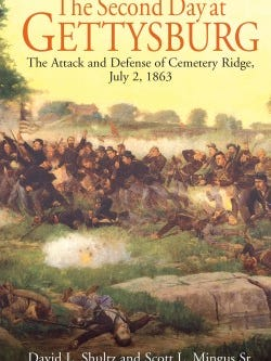 Scott MIngus' new book on the battle of Gettysburg will be available at all three book signings, as will most of his other Civil War books including his newest York County titles.