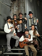 The Gypsy band Carute Roma performs Aug. 5 as part of the Farmington Public Library's Cottonwood Concert Series.