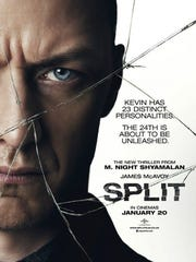 "The poster for ""Split."""