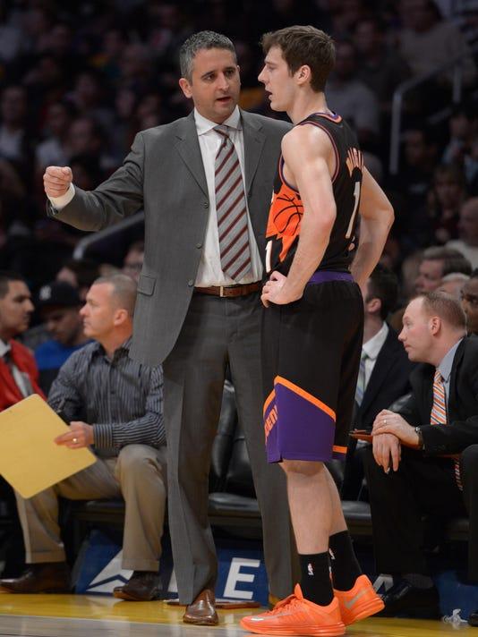 NBA: Phoenix Suns at Los Angeles Lakers