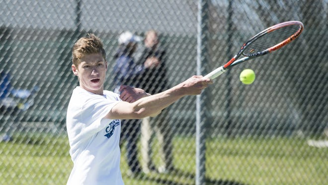 Cedar Crest's Jack Muraika will play for his second straight Lancaster-Lebanon League 3A singles title on Monday.