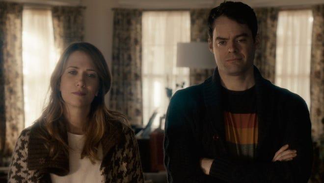 Kristen Wiig and Bill Hader play estranged siblings in 'The Skeleton Twins.'