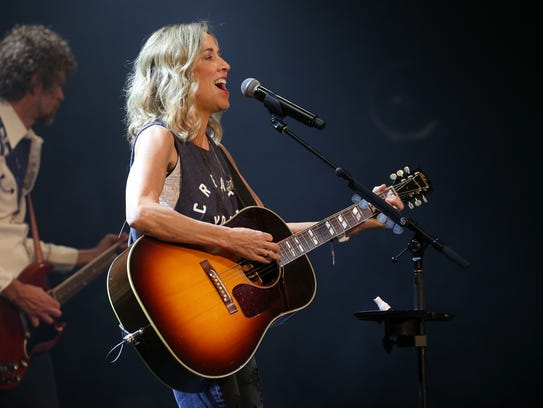 Sheryl Crow, pictured in June during the Rochester