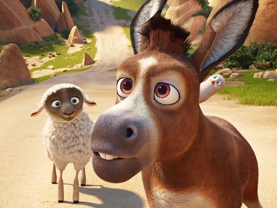 Ruth the sheep (Aidy Bryant), Bo the donkey (Steven