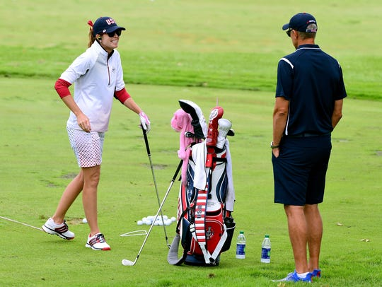 Paula Creamer will be making her seventh Solheim Cup