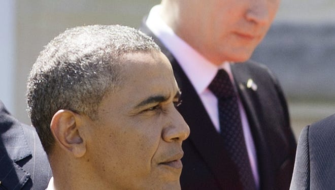 President Obama and Vladimir Putin