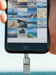 The 128GB Bolt holds 32,000 photos.