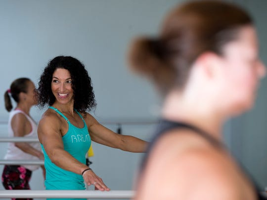 Amy Lademann, fitness instructor and co-owner of Beyond