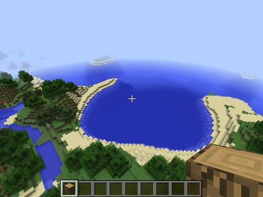 Virtual Minecraft explodes in the real world
