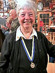 Nancy Cole is the newest Paul Harris Fellow for the