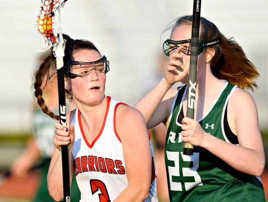 York Catholic vs Susquehannock girls' lacrosse semifinal