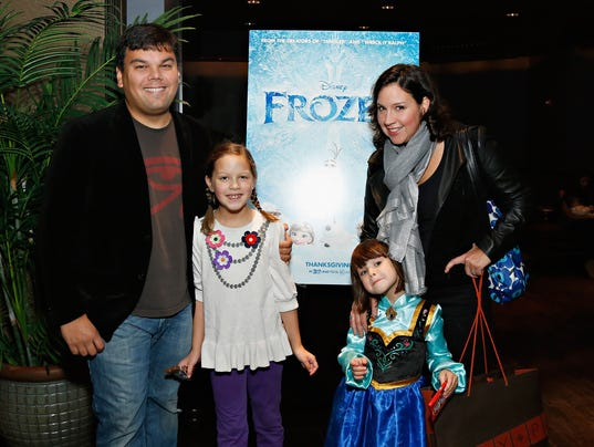 'Frozen' Songwriting Family