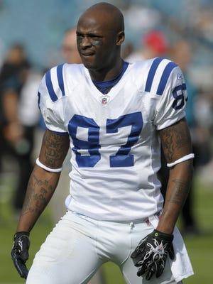Colts wide receiver Reggie Wayne