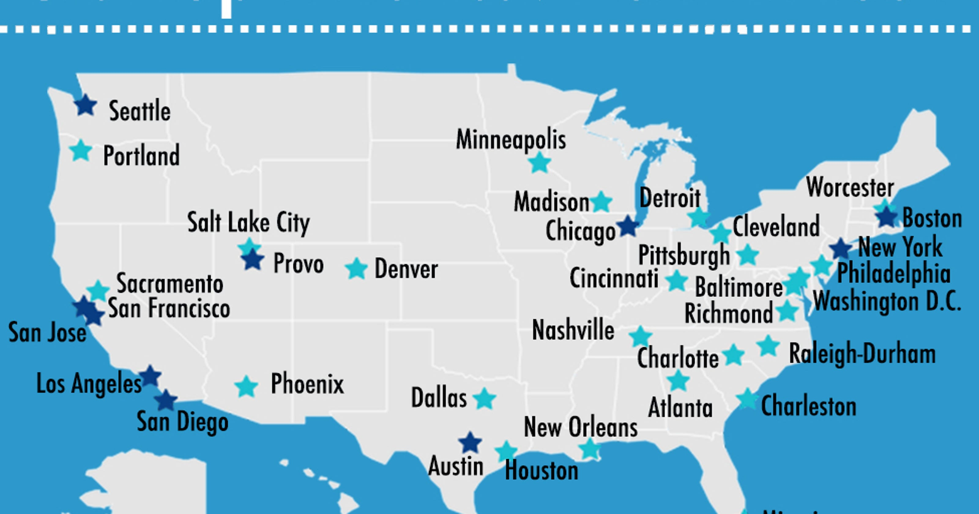 Your next high-paid tech job may be in these cities