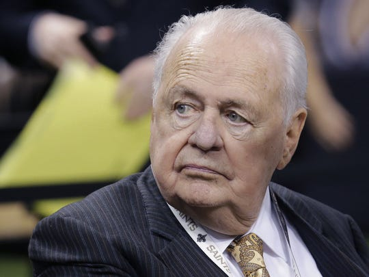 A deposition of Saints and Pelicans owner Tom Benson