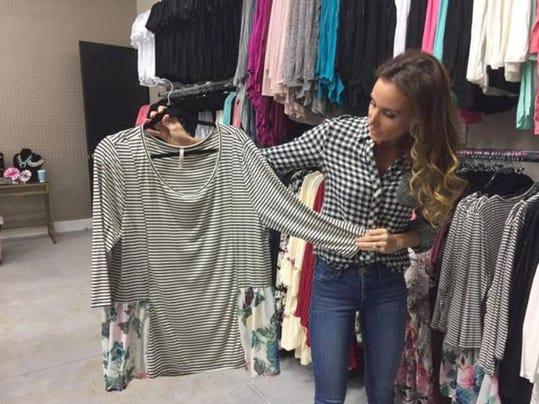 Nascar celeb samantha busch launches fashion e boutique Celebrity style fashion boutique