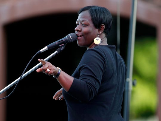 Wanda Johnson will perform at the Piedmont Natural Gas Block Party again in 2018.