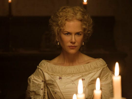 "This image released by Focus Features shows Nicole Kidman in a scene from ""The Beguiled."" The film, directed by Sofia Coppola, opens June 23."