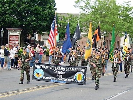 The Plymouth Memorial Day Parade annually draws thousands