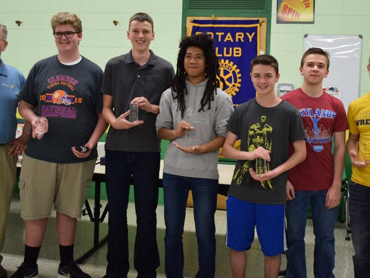 Robotics Tournament1st place winners