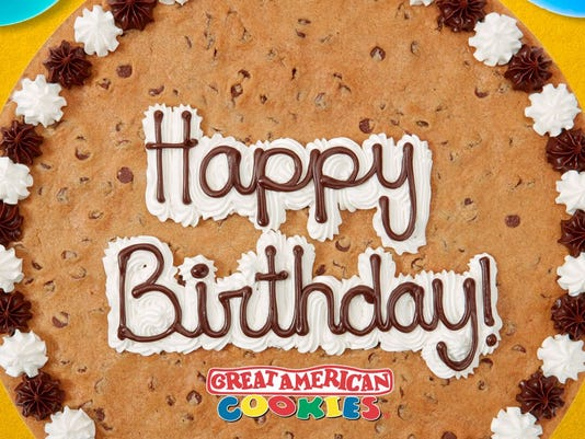 Great American Cookies Turns 40 And Is Giving Away Free Cookie Cakes