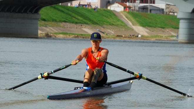 Ricky Vandegrift will end his summer by competing for a world rowing championship in Amsterdam. The trip to the Netherlands is just the latest step in the 17-year-old Bethel native's long journey, which has seen him overcome a physical challenge to become one of the world's elite athletes.