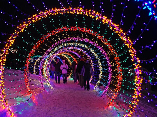 Holiday lights: 6 of Wisconsin's most dazzling shows