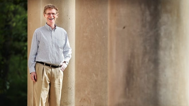 Cary Fowler, a scientist, scholar and advocate, and his wife are rehabilitating the historic home at Poplar and East Parkway.