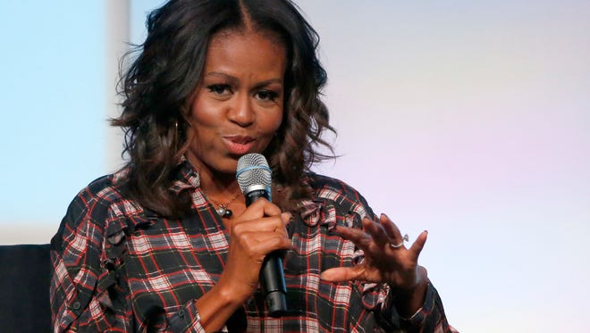 "Former first lady Michelle Obama will discuss her upcoming memoir ""Becoming"" as she kicks off the American Library Association's annual conference in New Orleans."