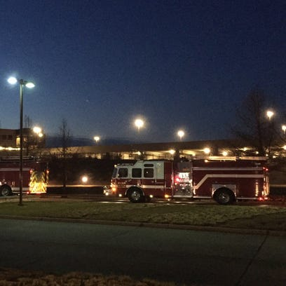 A fire was reported early Tuesday morning at the Wells
