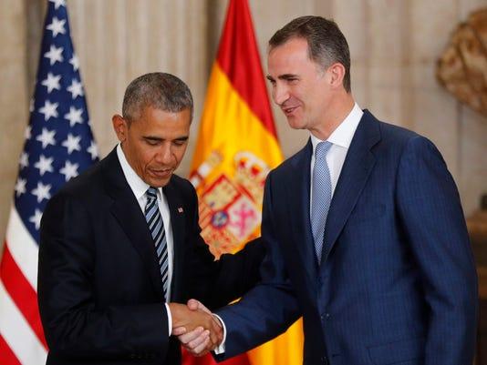 EPA SPAIN USA DIPLOMACY POL DIPLOMACY ESP MA