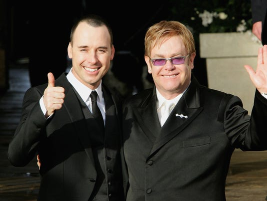 FILE: Elton John To Marry Partner David Furnish This Weekend