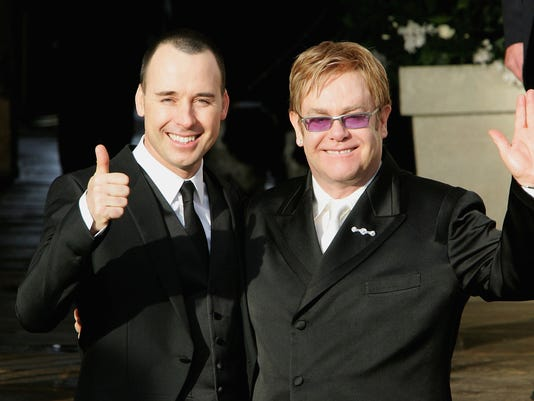 FILE: Elton John To Marry Partner David Furnish This Weekend