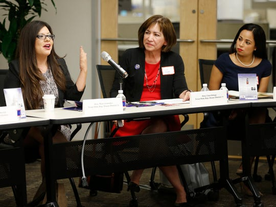 Wise Latina International held a forum Friday morning