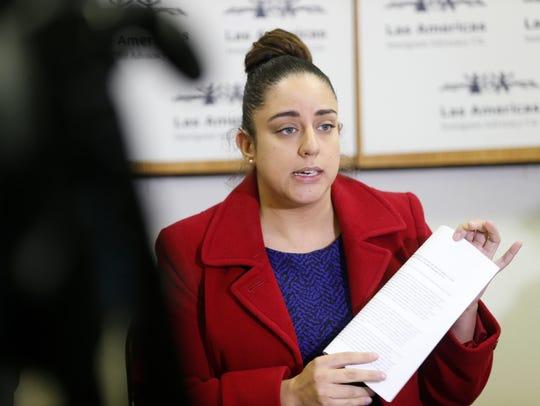 Linda Rivas, executive director of Las Americas Immigrant