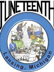 Lansing Juneteenth 2105 logo