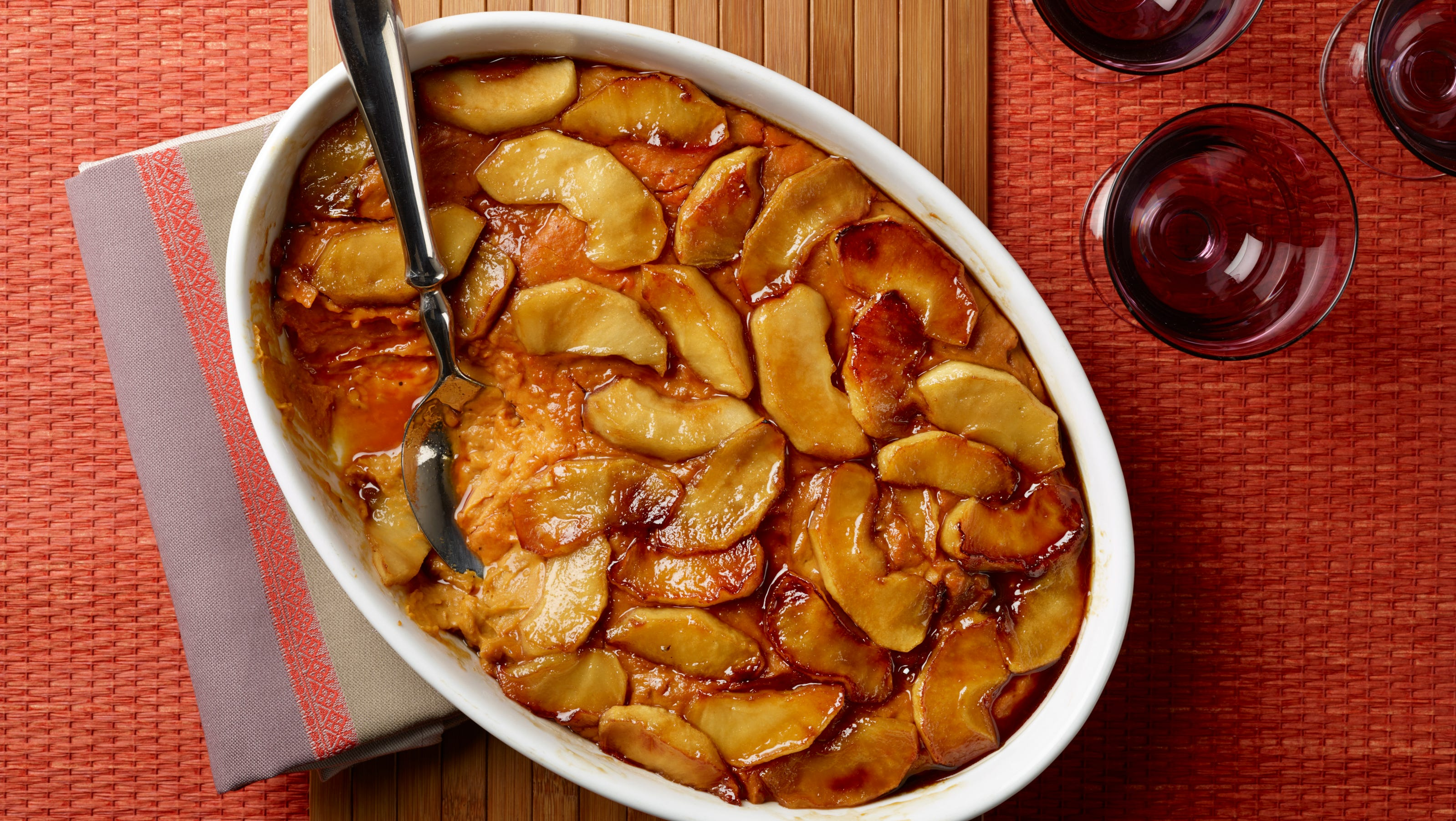 Recipe: Sweet Potato Casserole with Caramelized Apples